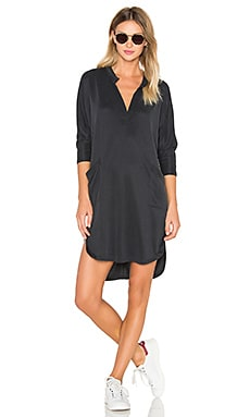 sen Baja Dress in Charcoal