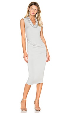 Kent Dress in Light Grey