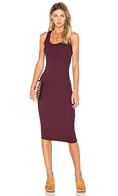 Ora Dress en Bordeaux