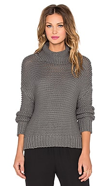 sen Logan Sweater in Charcoal