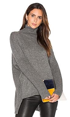 Benton Sweater en Charcoal