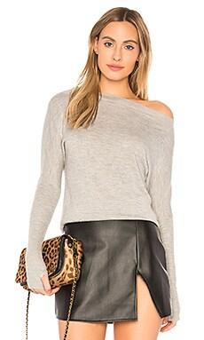 Пуловер на одно плечо cortina - sen