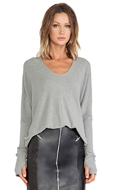 sen Grace Pullover Sweater in Heather Grey
