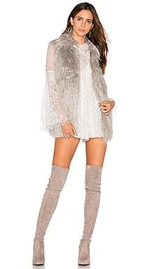Shanese Faux Fur Vest