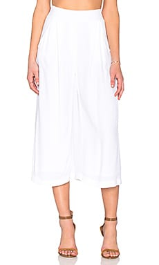 Braxton Culotte in White