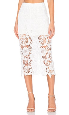 sen Francis Skirt in White