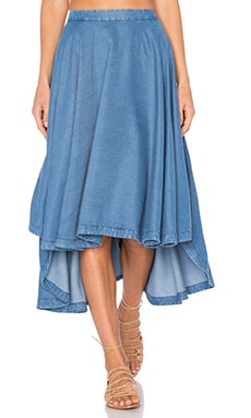 Skylar Skirt in Chambray