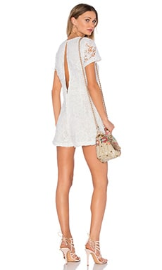 Maxwell Romper in White