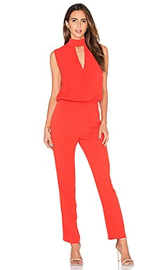 Milo Jumpsuit in Red