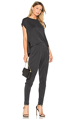 Gillian Jumpsuit in Charcoal