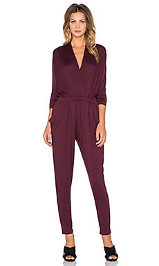 sen Soho Jumpsuit in Burgundy