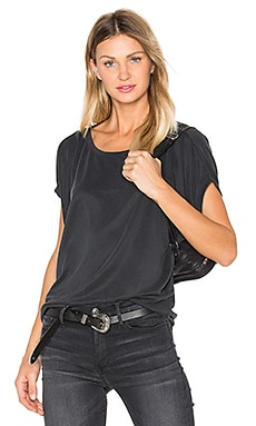 sen Kit Top in Charcoal