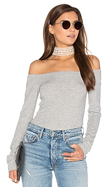 Ari Bodysuit in Heather Grey