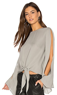 Brena Blouse in Light Grey