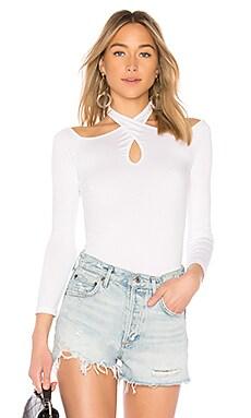 Купить Топ с открытыми плечами zippora - sen белого цвета