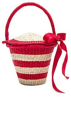 Mini Striped Bucket Bag SENSI STUDIO $65