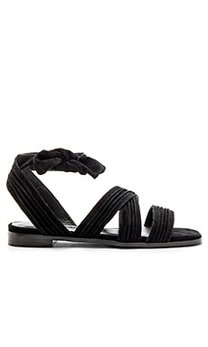 Haley Sandal in Ebony