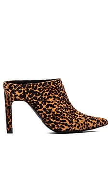 SENSO Uki II Mule with Cow Hair in Leopard Pony