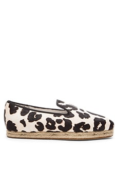 SENSO Madeline I Cow Hair Espadrille in Chalk