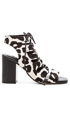 SENSO Rhiannon III Cow Hair Heel in Chalk