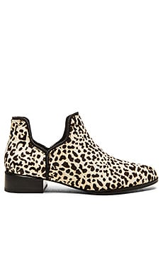 SENSO Bailey III Cow Hair Bootie in Latte Leopard