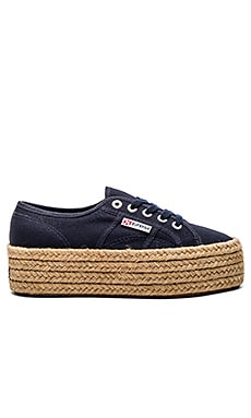 Superga 2790 Cotro Sneaker in Navy