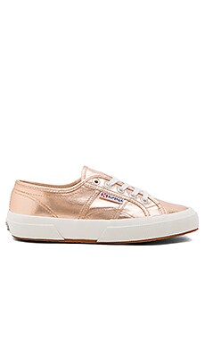 Superga 2750 Cotmetu Sneaker in Rose Gold