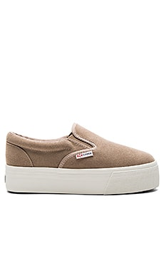 Superga 2314 SUEW Sneaker in Sand
