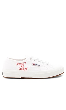Sweet as Cherries Sneaker in Cherry