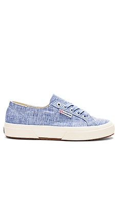 2750 Fabric Shirt Sneaker Superga $61