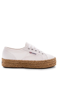 SNEAKERS PLATFORM ESPADRILLE Superga $85 BEST SELLER