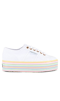 2790 COTW FMULTICOLOR Sneaker Superga $89 NEW