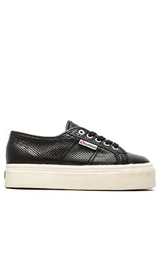Superga Slip On Sneaker in Black