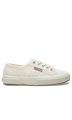Superga Crochet Sneaker in White