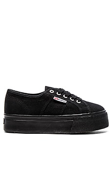Superga Sneaker in Full Black