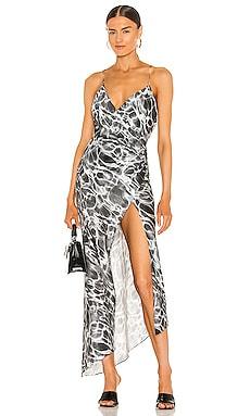 Emma Silk Dress SER.O.YA $375