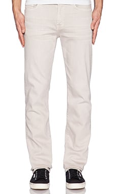 7 For All Mankind Luxe Performance Slimmy in Light Khaki