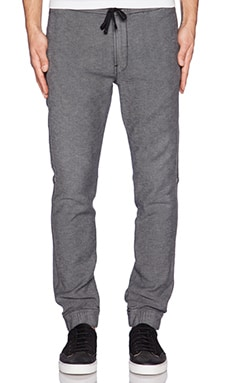 7 For All Mankind Luxe Sport Sweatpant in Black Wash