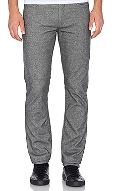 7 For All Mankind Brushed Melange Slimmy in Grey