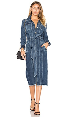 Denim Shirt Dress in Waterloo