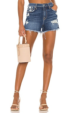 High Waist Vintage Fray Hem Short 7 For All Mankind $169