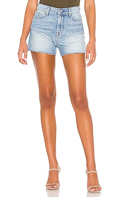 SHORT EN JEAN 7 For All Mankind $165