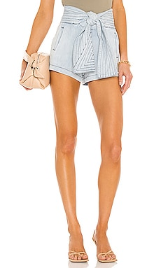Trapunto Belted Short 7 For All Mankind $228