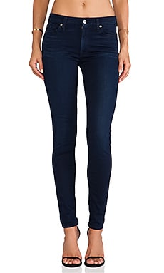 The Midrise Skinny with Contour in Slim Illusion Luxe Rich Blue
