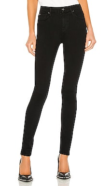The High Waist Skinny in Slim Illusion Luxe Black