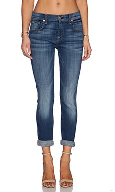 7 For All Mankind Relaxed Skinny in Medium Broken Twill