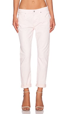 7 For All Mankind The Relaxed Skinny in Whisper Pink
