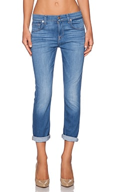 7 For All Mankind The Cropped Relaxed Skinny in Weekend Denim Medium