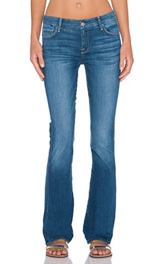 7 For All Mankind Skinny Bootcut in Slim Illusion Atmosphere Med. Blue
