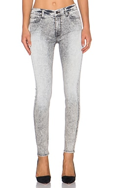 7 For All Mankind Ankle Skinny in Mineraled Smoke Grey